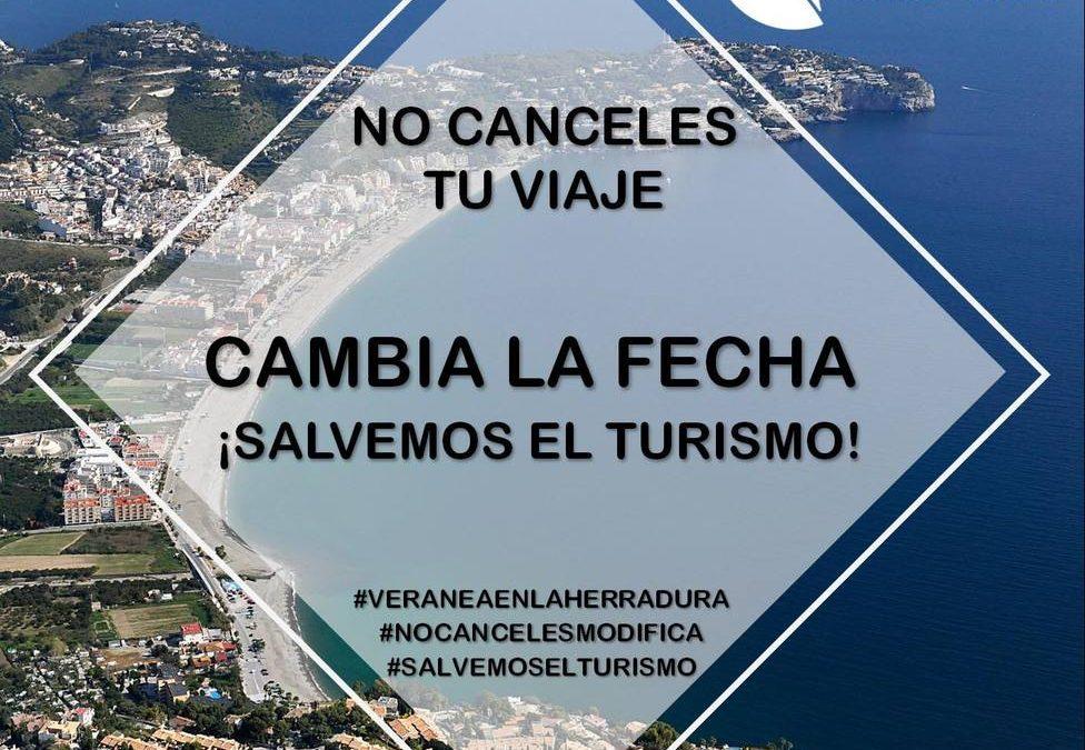 """""""NO CANCELES TU VIAJE. CAMBIA LA FECHA"""" ¡SALVEMOS EL TURISMO!"""